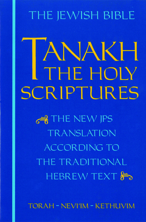 JPS TANAKH: The Holy Scriptures (blue)