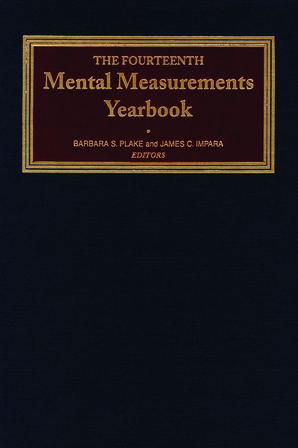 The Fourteenth Mental Measurements Yearbook