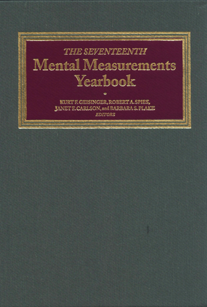 The Seventeenth Mental Measurements Yearbook