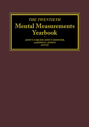 The Twentieth Mental Measurements Yearbook